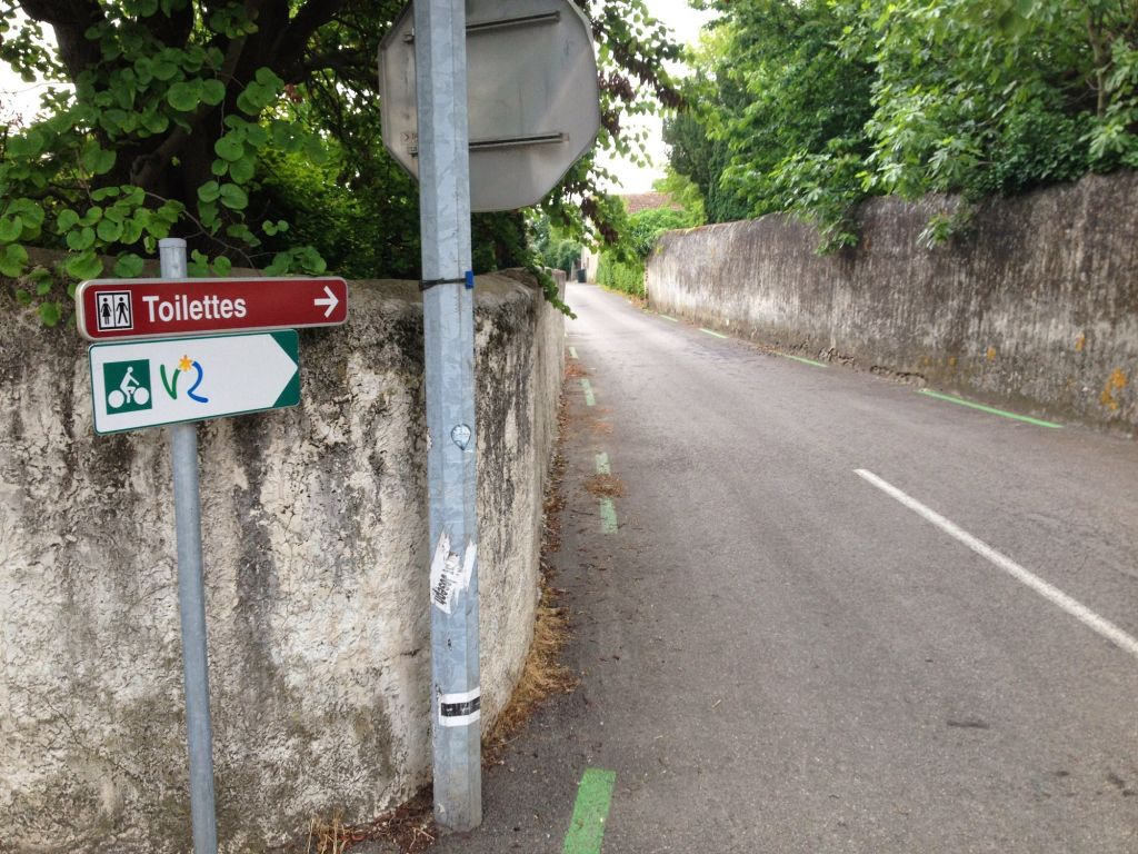 Bike Path Road Sign