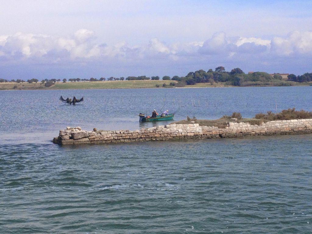 Canal de Rhone a Sete Fishermen