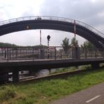 Pedestrian and bike bridge