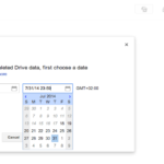 Admin console  Date Time