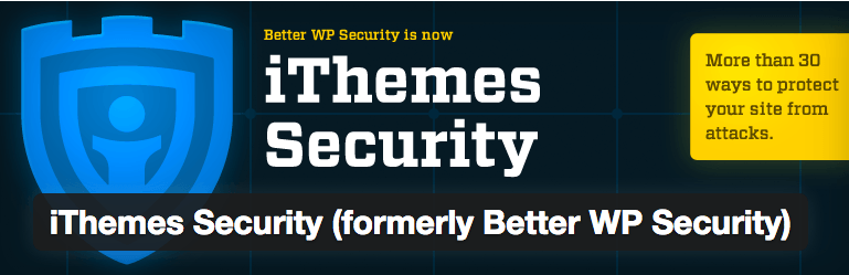 WordPress › iThemes Security  formerly Better WP Security  « WordPress Plugins