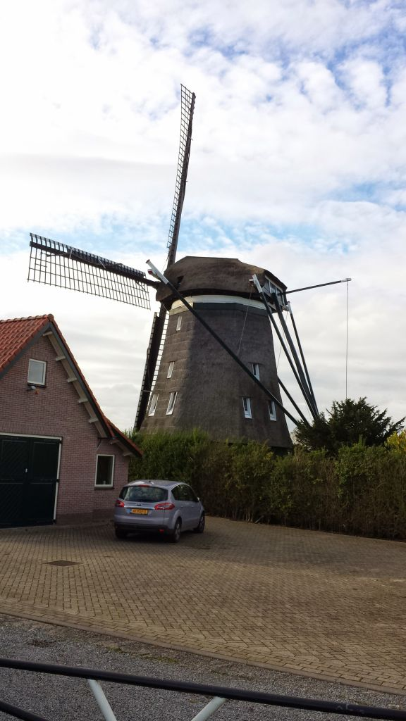 Windmill near Saarndam