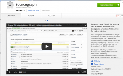 Sourcegraph - Chrome Web Store
