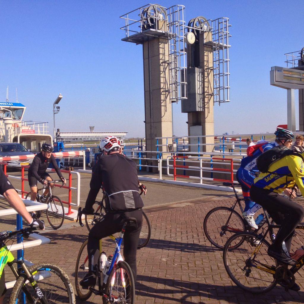 Spaarndam ferry station