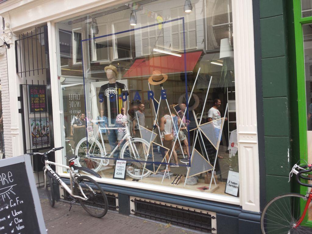 Shop decoration Tour De France 2015 Utrecht
