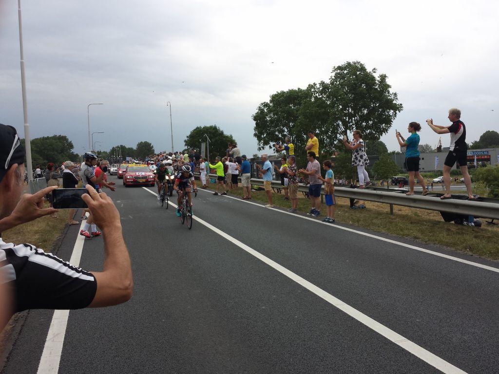 Breakaway Group Stage 2 Le Tour De France 2015