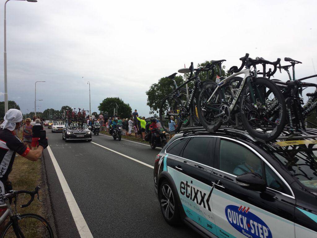 Tour De France Stage 2 Team Cars