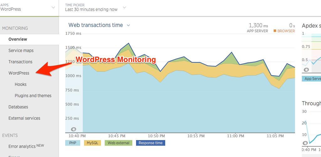 WordPress Monitoring