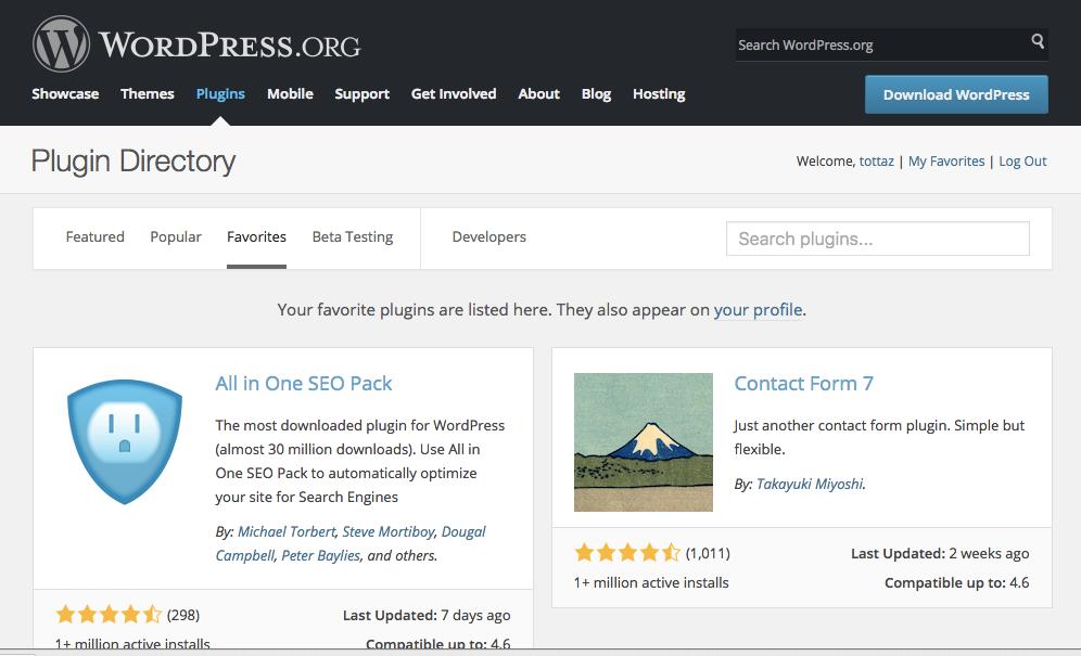 Favorites_—_WordPress_Plugins