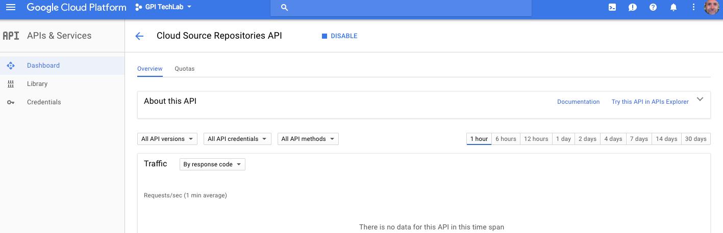Enable Cloud Source API